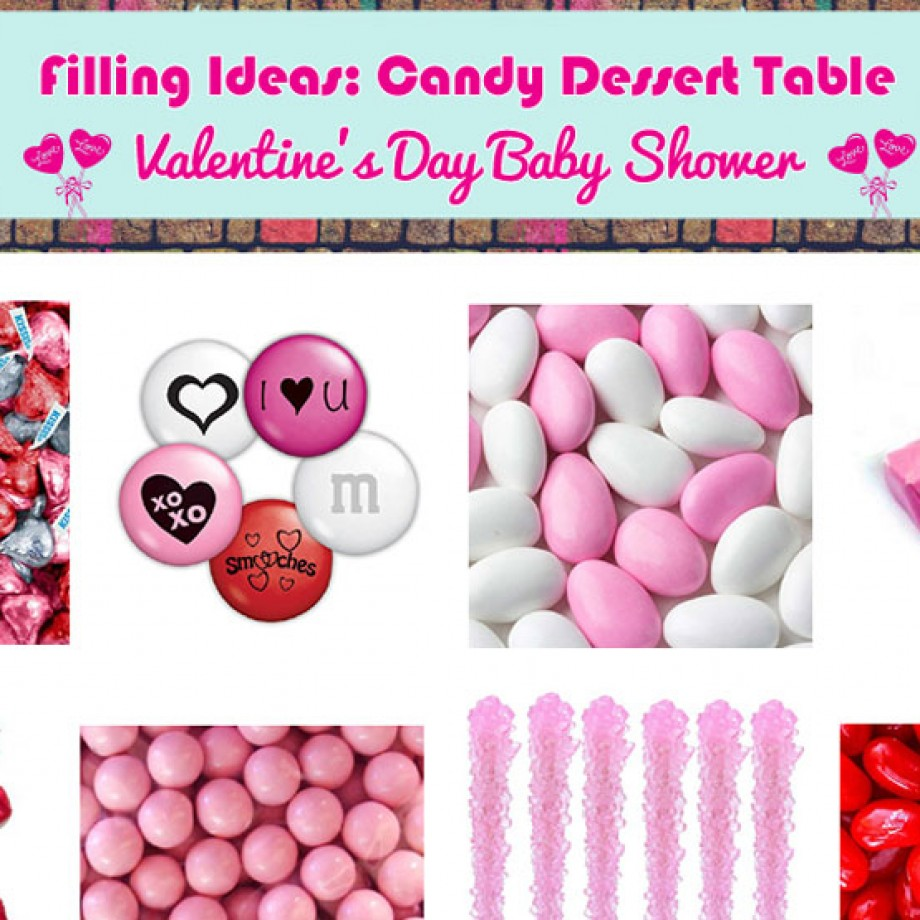 How to Set Up a Valentine's Themed Candy Buffet Table