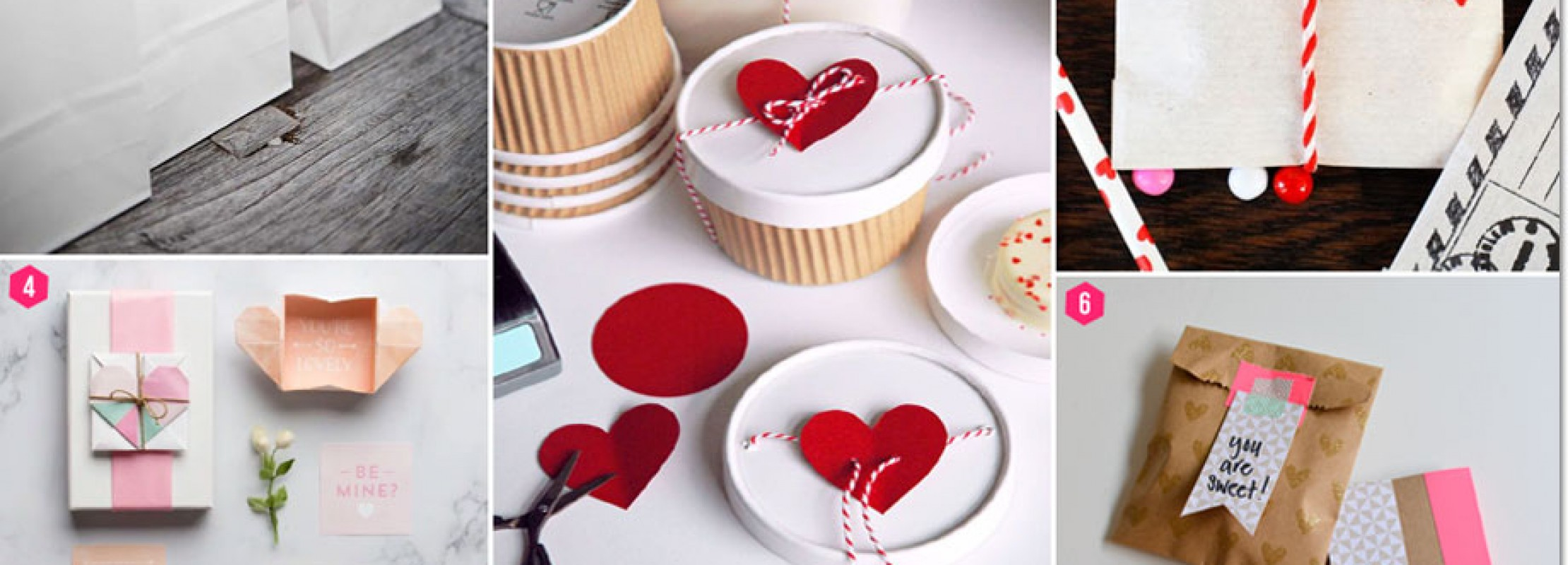 Hip Packaging Ideas for Valentine's Party Favors -- featured on Bellenza Party Suite