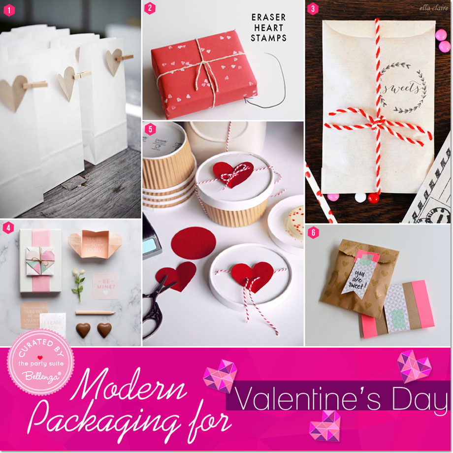 Hip Packaging Ideas For Valentineu0027s Party Favors    Featured On Bellenza  Party Suite