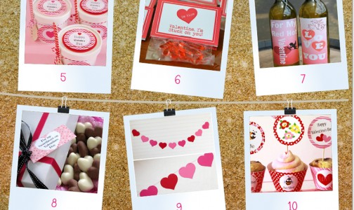 Treats, Gifts, and Decorations for Valentine's Day!