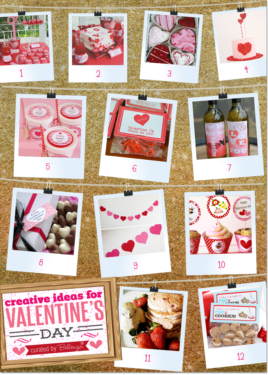 Lovinu0027 The Inspiration: 24 Creative Valentineu0027s Day Ideas!