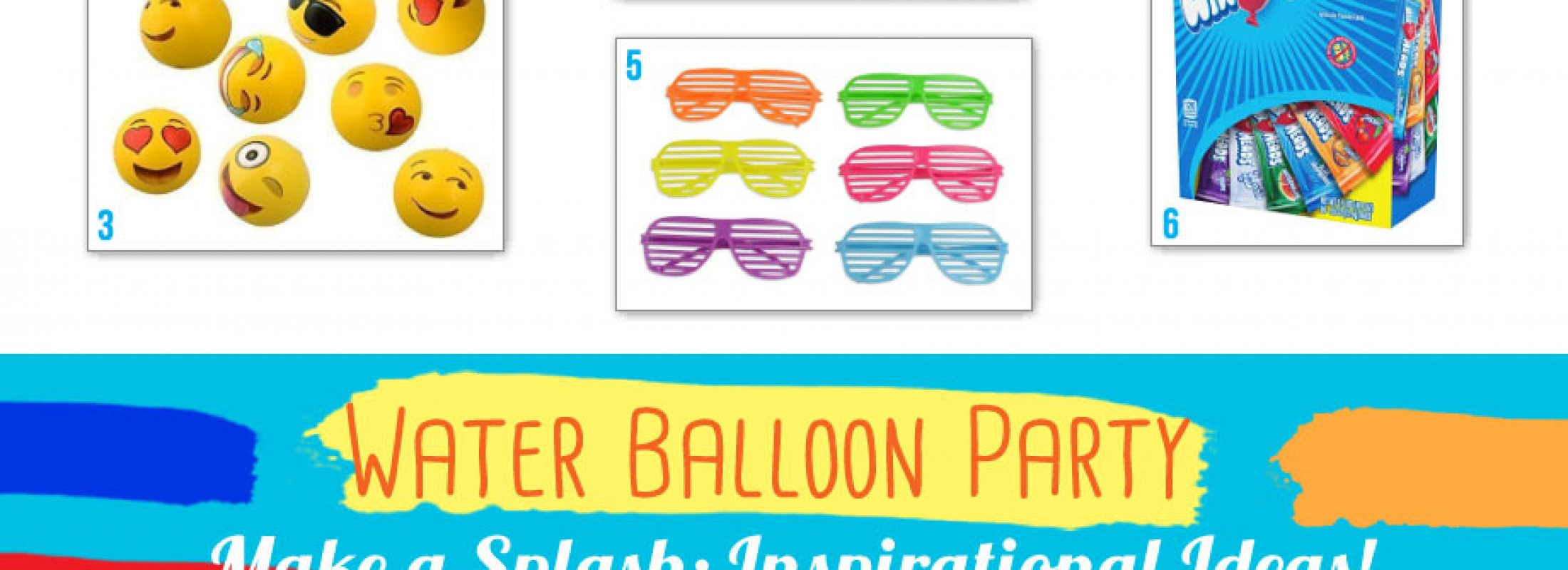 Water Balloon Birthday Party