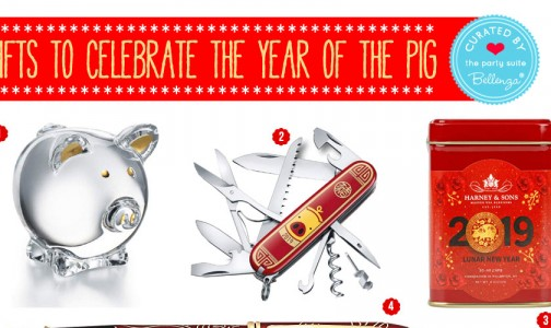 Chinese New Year Gifts for the Year of the Pig