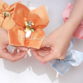 Lusetalleante Mini Jordan Almond Favor Bags (set of 3)