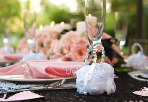 Sofearella Vintage Bridal Shower Favor Bags