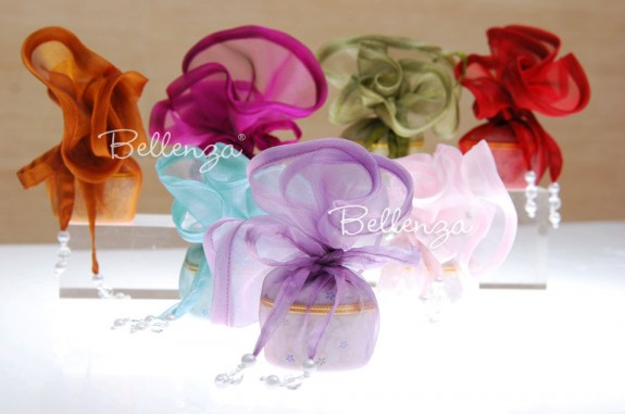 12″ Organza Favor Rounds Wrapping (set of 5)
