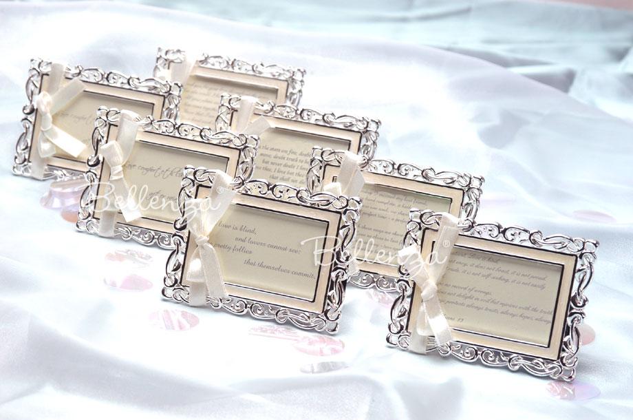 bianna art deco place card frames set of 5