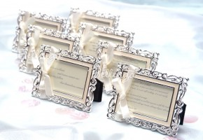 Bianna Enamel Place Card Frames (set of 5)