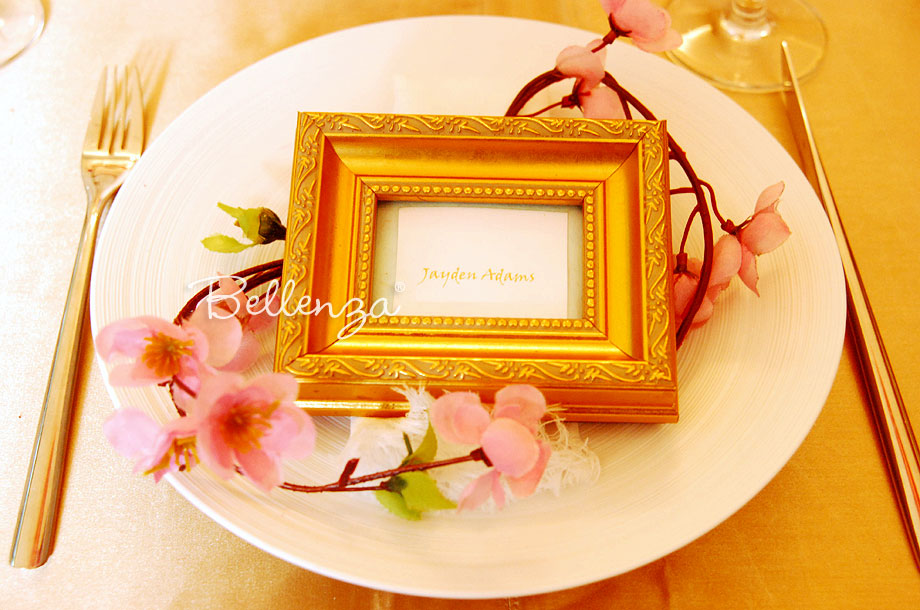 marcoro mini gold place frames - Mini Gold Frames