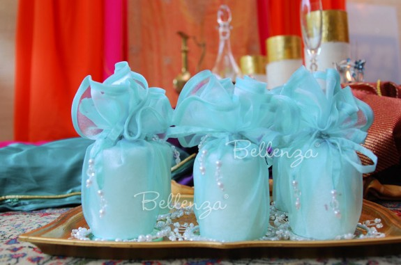 17″ Organza Favor Wraps (set of 5)