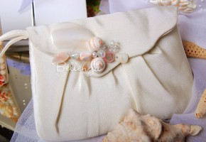 Estrellene Ivory Wedding Purse
