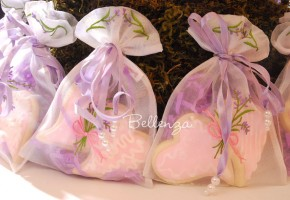 Organza Favor Bags for Cookies (set of 5)