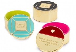 Enamel and Gold Keepsake Jewelry Boxes