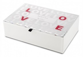 Love Jewelry Gift Box in Glass