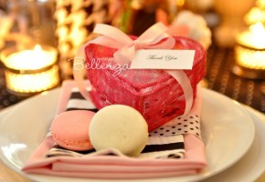 Pink Macaron Charisse Favor Boxes