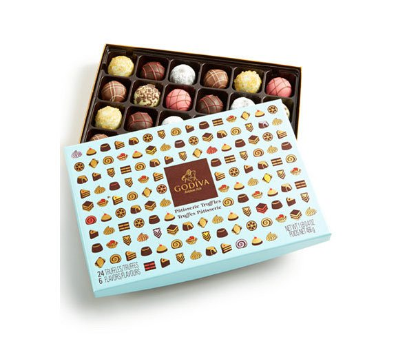 24-piece Patisserie Gift Box of Truffles
