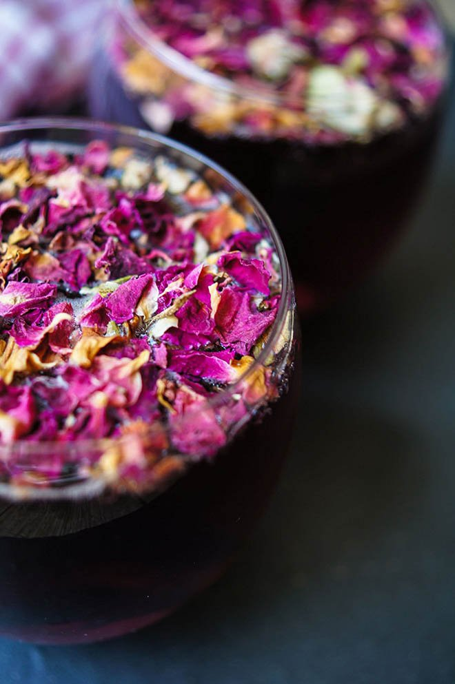 Natural, Homemade Dried Red Roses for Potpourri