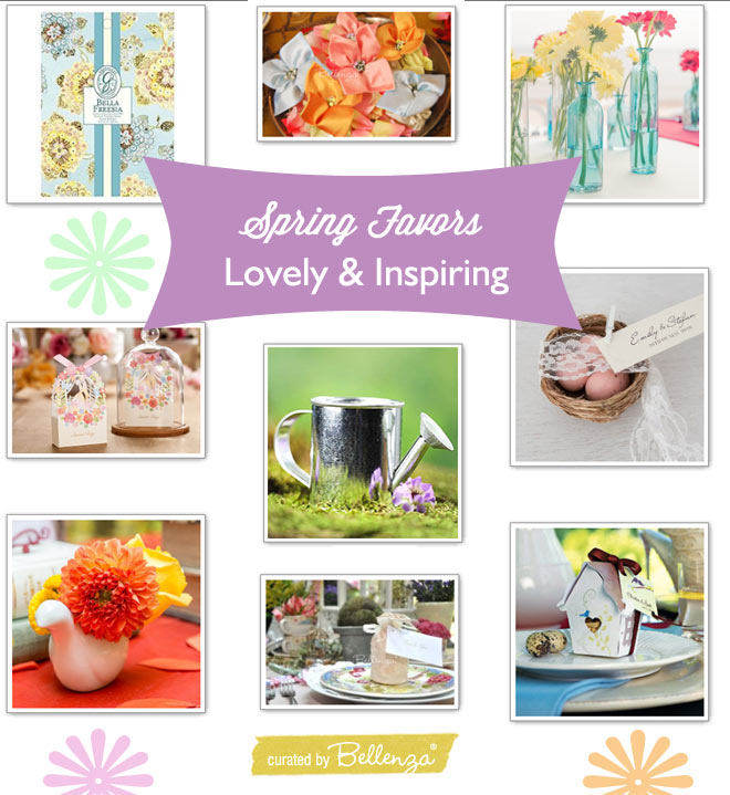 Spring party favor favors: pretty and practical for guests