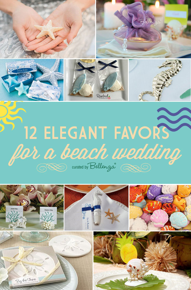 12 Sophisticated Seashell Favors