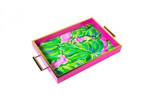Lilly Pulitzer Hostess Tray (Painted Palm)