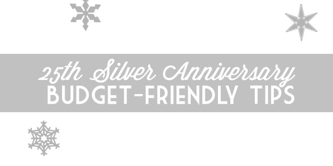 Silver-winter-anniversary on a budget