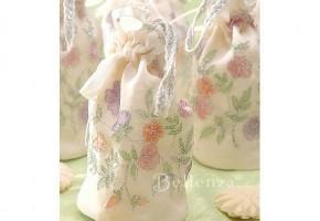 Soap Wedding Favor Pouches Luméseta (set of 4)