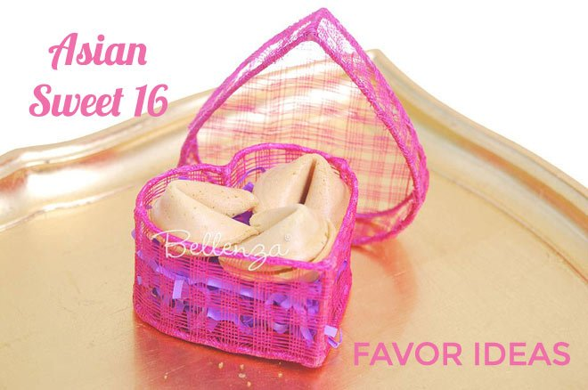 Fortune cookie sweet 16 favors