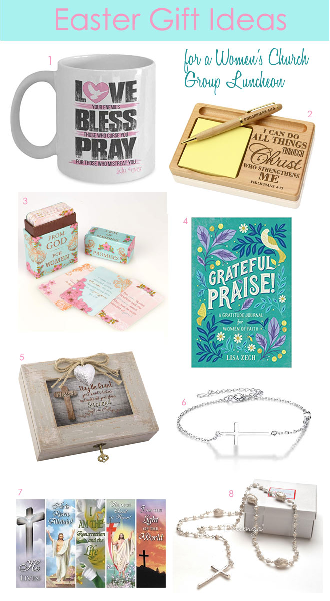Religious Easter Gifts and Favors for Women's Church Group