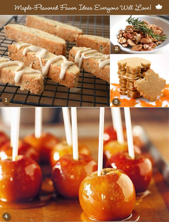 Maple flavored favors