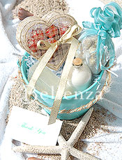 Beach gift bucket