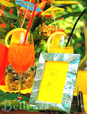 Drinks for the luau