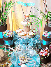"Bon Voyage! With a ""Sweet Sailing""-themed Candy Table"