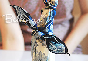 Wine Bottle Wrapping Using Furoshiki
