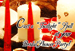 Twilight bridal shower theme