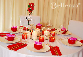 Valentine's wedding party