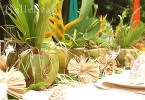 50th wedding anniversary luau