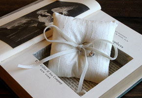 Offbeat and Cool: Ring Pillows for your Ceremony!