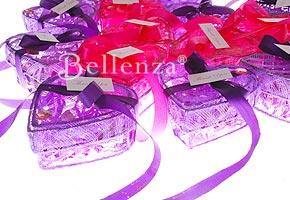 Purple heart boxes