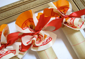 Favors with a Good Fortune for a Chinese New Year's Celebration