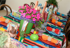 Cinco de Mayo table decorations
