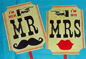 A Circus Wedding Theme with a Contemporary Vibe