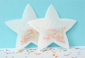 Confetti-inspired Favors for a New Year's Party