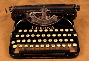 Find in Focus: Alternative Guestbooks Using Typewriters