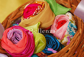 Favors using fabrics