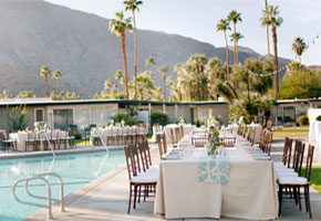 Elegant ideas for a poolside wedding