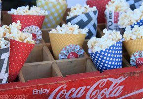Popcorn favors that are DIY
