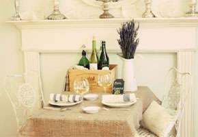 Elegant French table setting