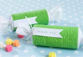 Green favor roll
