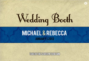 Find in Focus: iPad Wedding Photo Booth