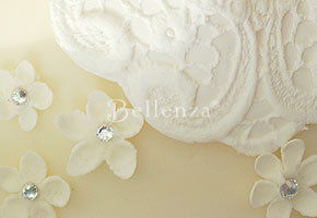 Beautiful Ivory Sets the Tone for an Elegant Summer Wedding